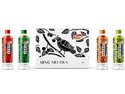 达利园 [青梅茶] 系列包装提案