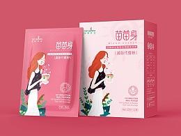 顶藜农业丨藜麦代餐粉包装设计