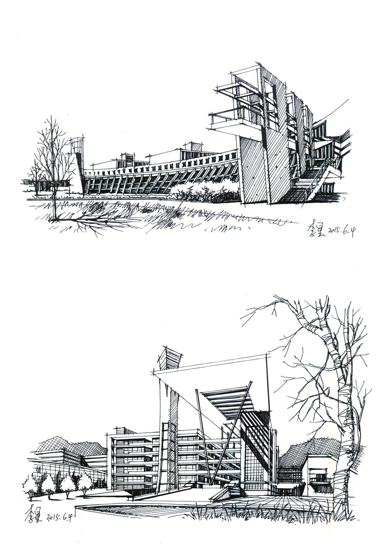 建筑透视图怎么画