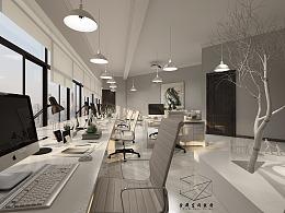 现代性冷淡风办公室