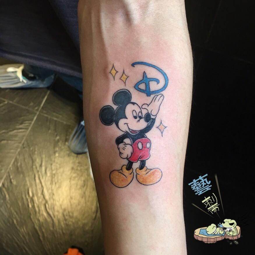 米老鼠纹身米奇纹身图片