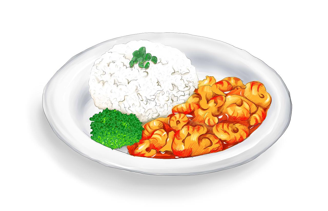 餐饮菜品手绘练习