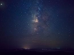 手机的英仙座流星雨之夜