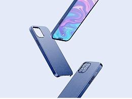 iPhone12皮质手机壳-AMZ