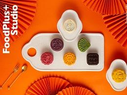 FoodPlus ✖️ 荞艺优品   桃山皮月饼礼盒