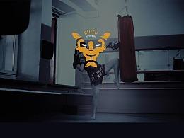 RUITU健身logo设计