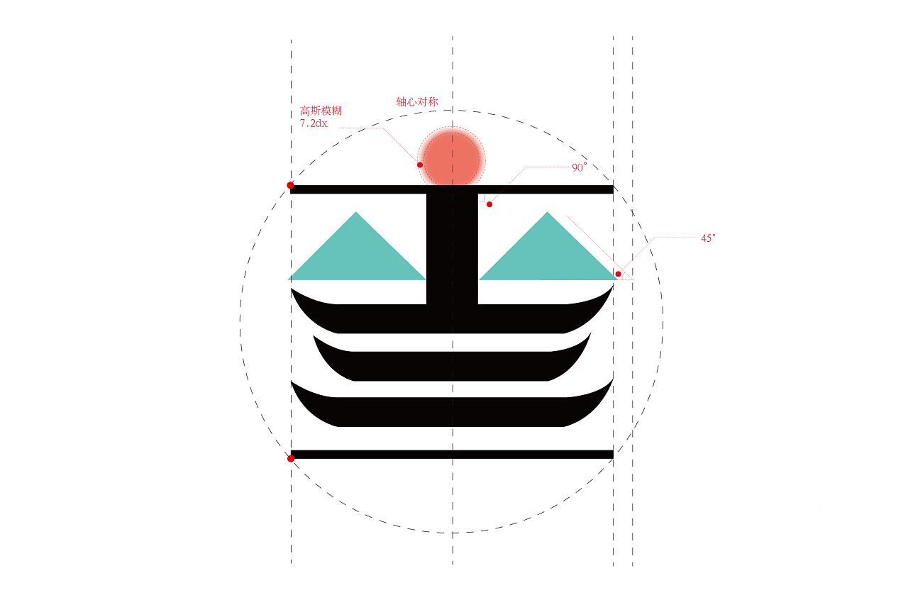 绘制安徽济写生济VI功率设计作品视觉高压管版图纪念图片