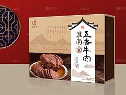 独树品牌设计 徽派牛肉包装   做品牌 打市场 找独树
