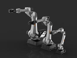 工业4.0---工业机器人外观设计