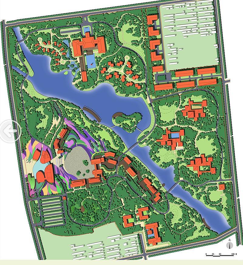 给一块地做景观设计有一块地但还木有软件的主体室内设计画图用什么位置比较好图片