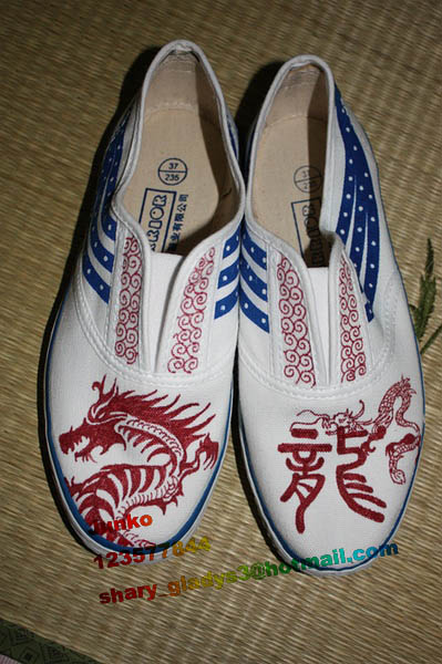 手绘鞋x国货回力飞跃~大爱sh唯一|绘画习作|插画|zhu
