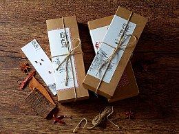 恩施土特产腊肉腊肠标志/包装/拍摄系列设计  北邦视觉
