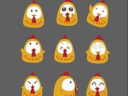 脆小鸡logo表情