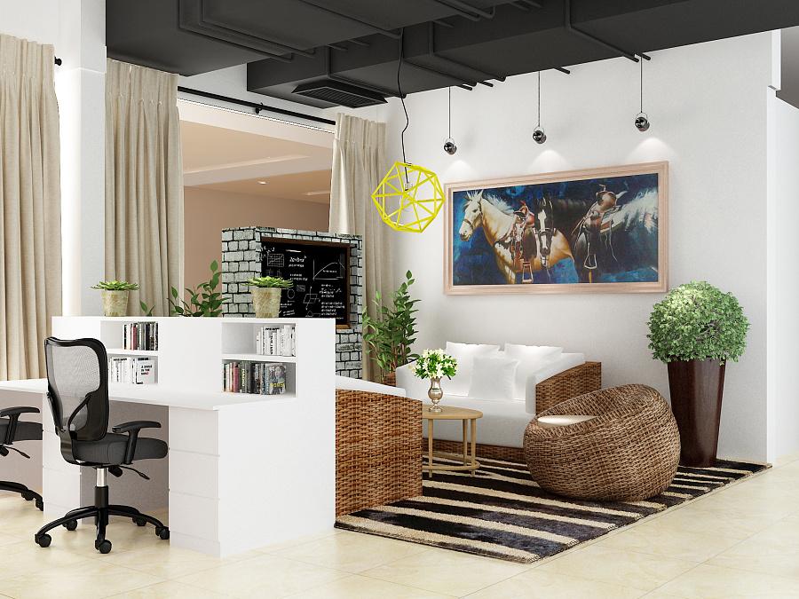 办公室休息区|室内设计|空间|guoxiang137 - 原创设计
