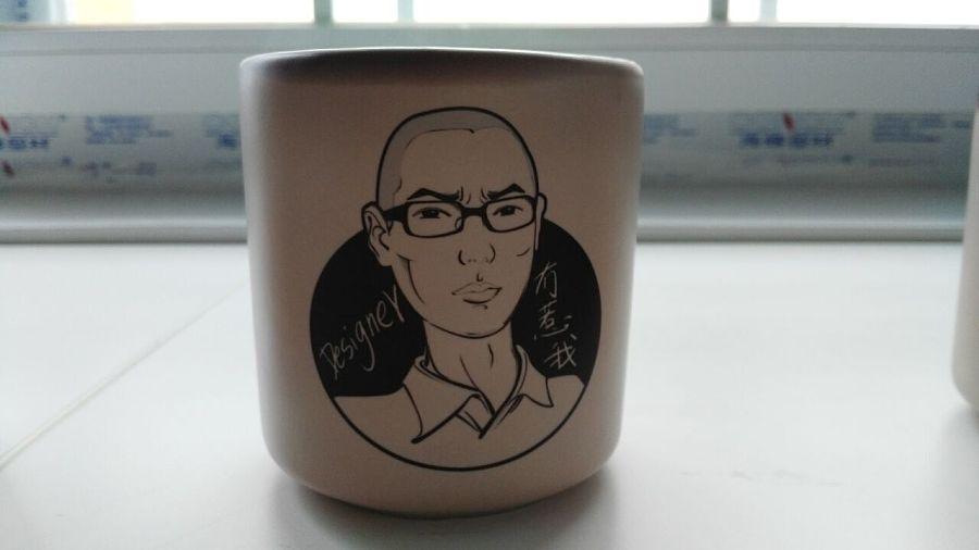 手绘个性杯子 |图案|平面|mr斑马 - 原创设计作品
