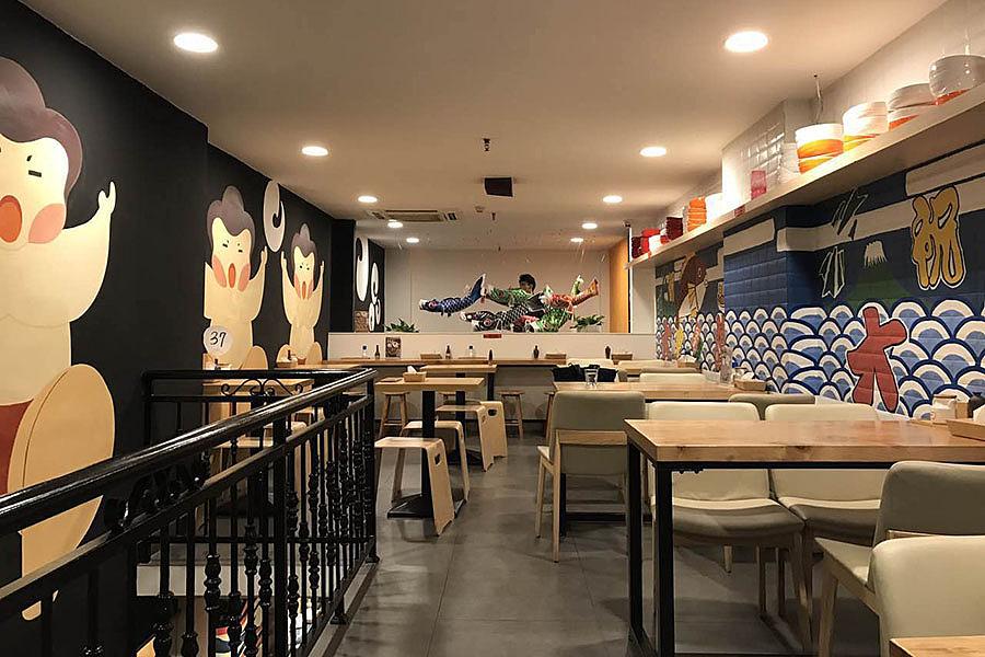 餐饮探店-餐饮空间设计 · 东莞大腕鳗店