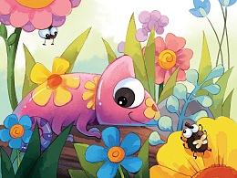儿童绘本《最美变色龙》未出版