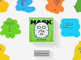 字体面膜日历 Character mask calendar