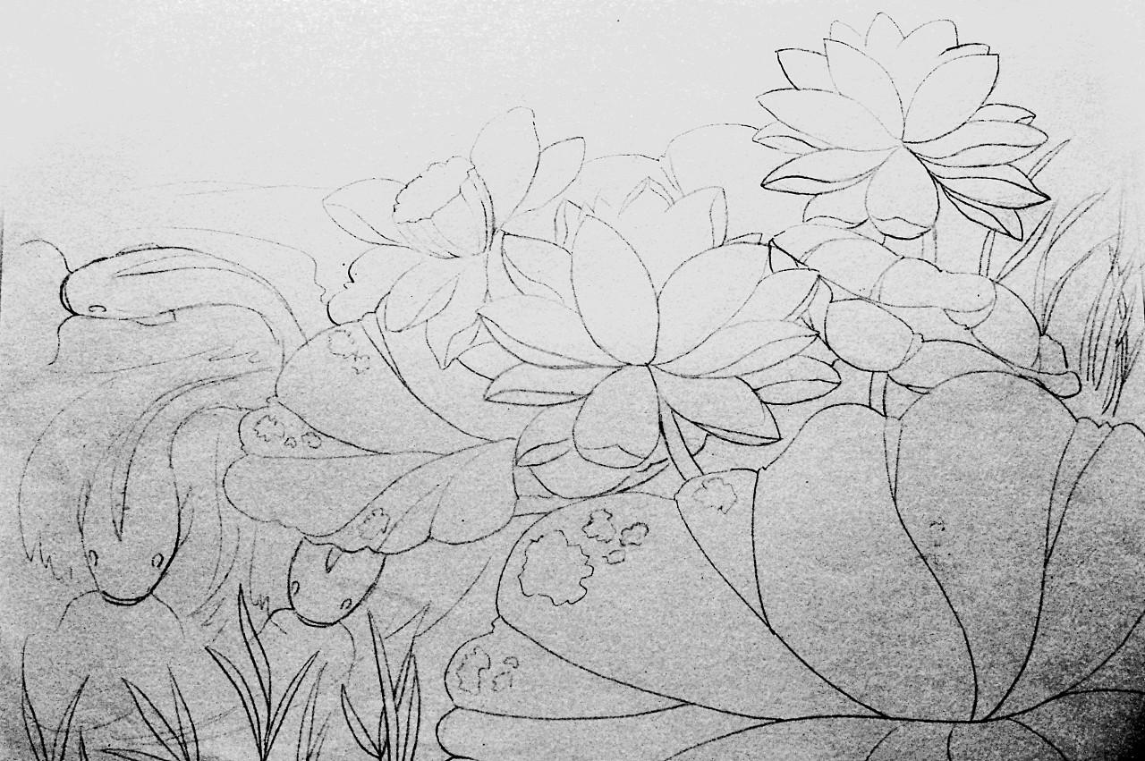我的手绘卡通画稿