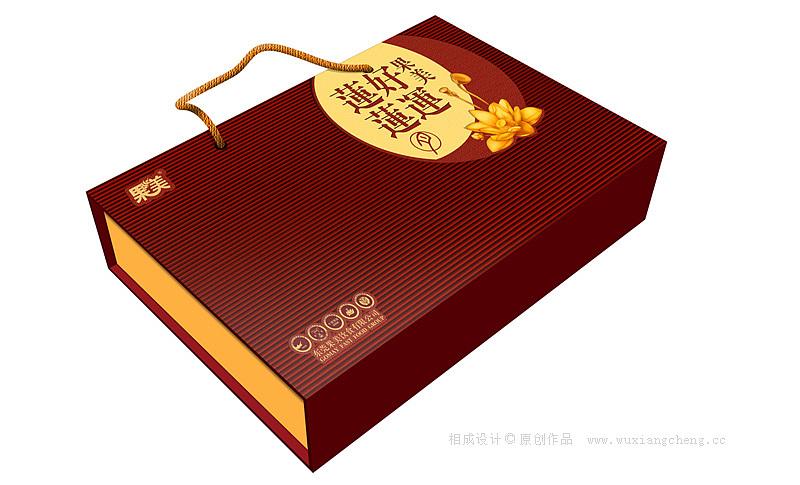 那年我们设计的月饼包装设计盒子
