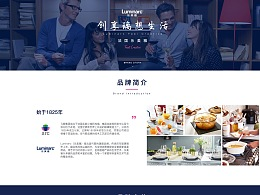 Luminarc 网站