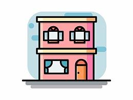 日常练习小房子