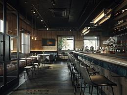 酒吧写实效果表现--ZK Vision(苏州)