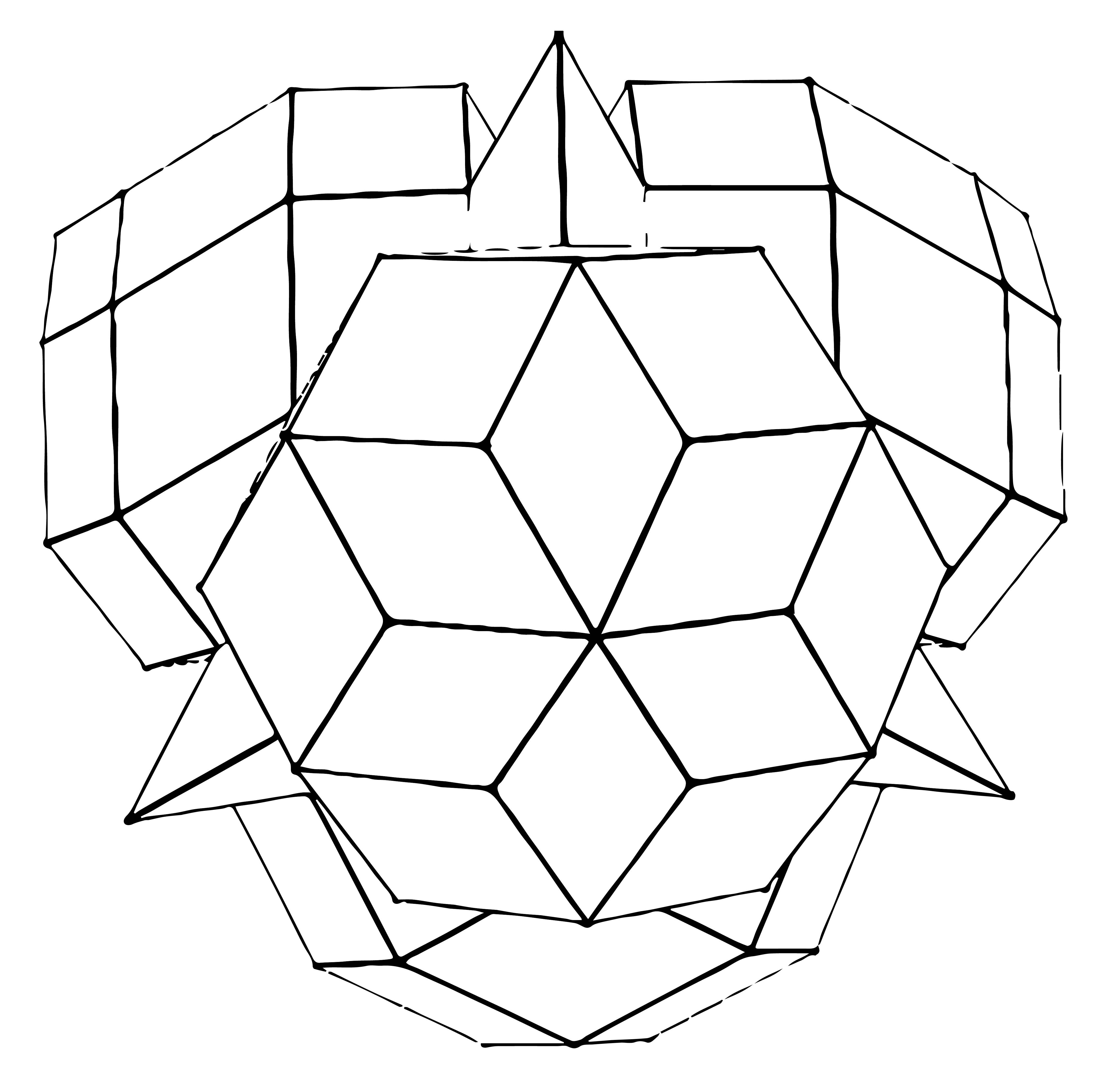 工程图 简笔画 平面图 手绘 线稿 4624_4414