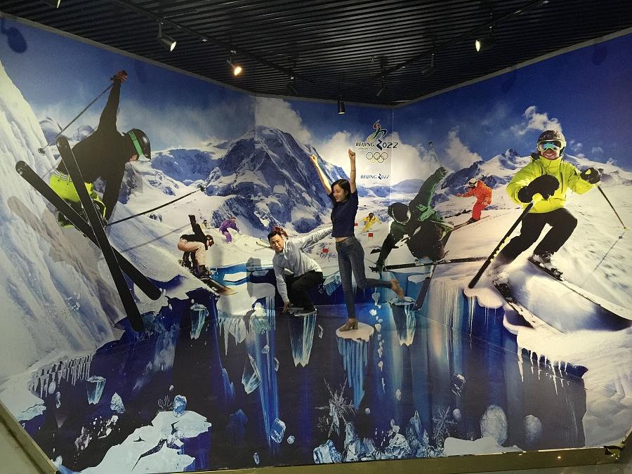 2022年冬奥会绘画图图片