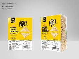 食品包装 锅巴包装 糯米酥 合肥包装设计