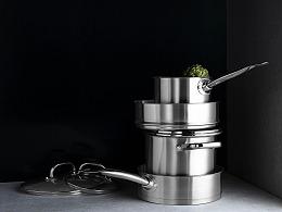 厨房锅具杯壶拍摄
