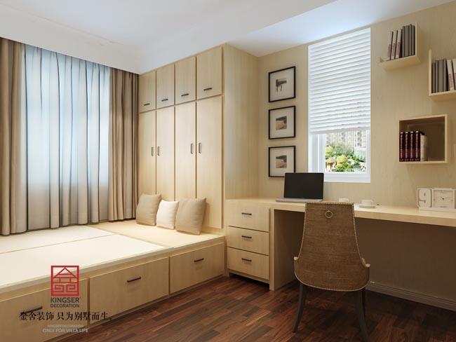 【瀚唐水平装修】-三室两厅133平米-新中式|室小区网页设计图片