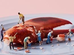 上海萌豆嘉年华|亲子餐厅 美食海报摄影