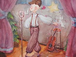 《日常  一个人的舞者》