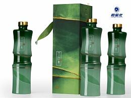 2017紅星獎作品:竹葉青酒包裝設計—— 柏星龍