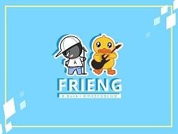 FRIENG(B.Duck小黄鸭 x ZCOOL站酷联名扑克)