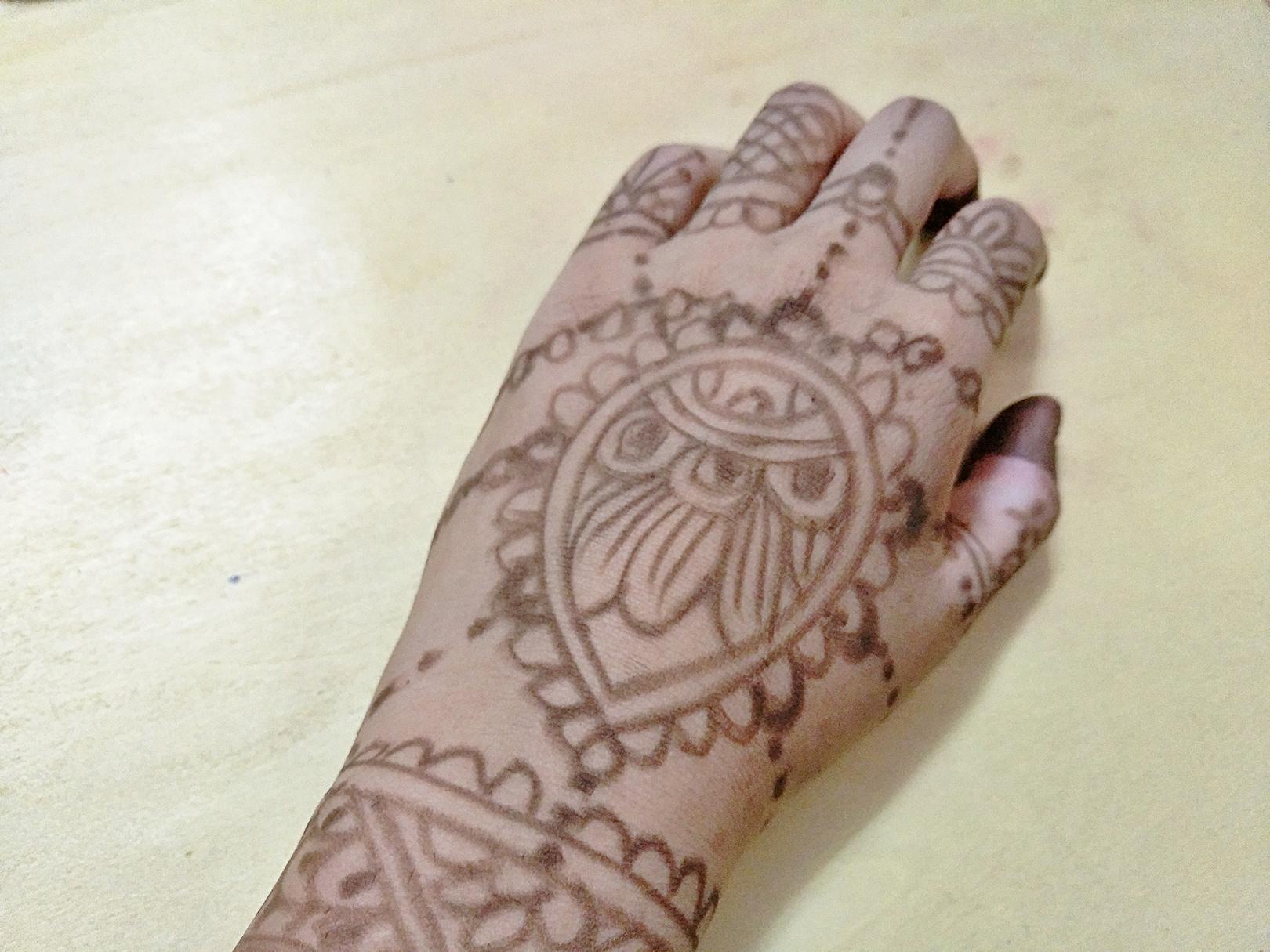 印度海娜手绘