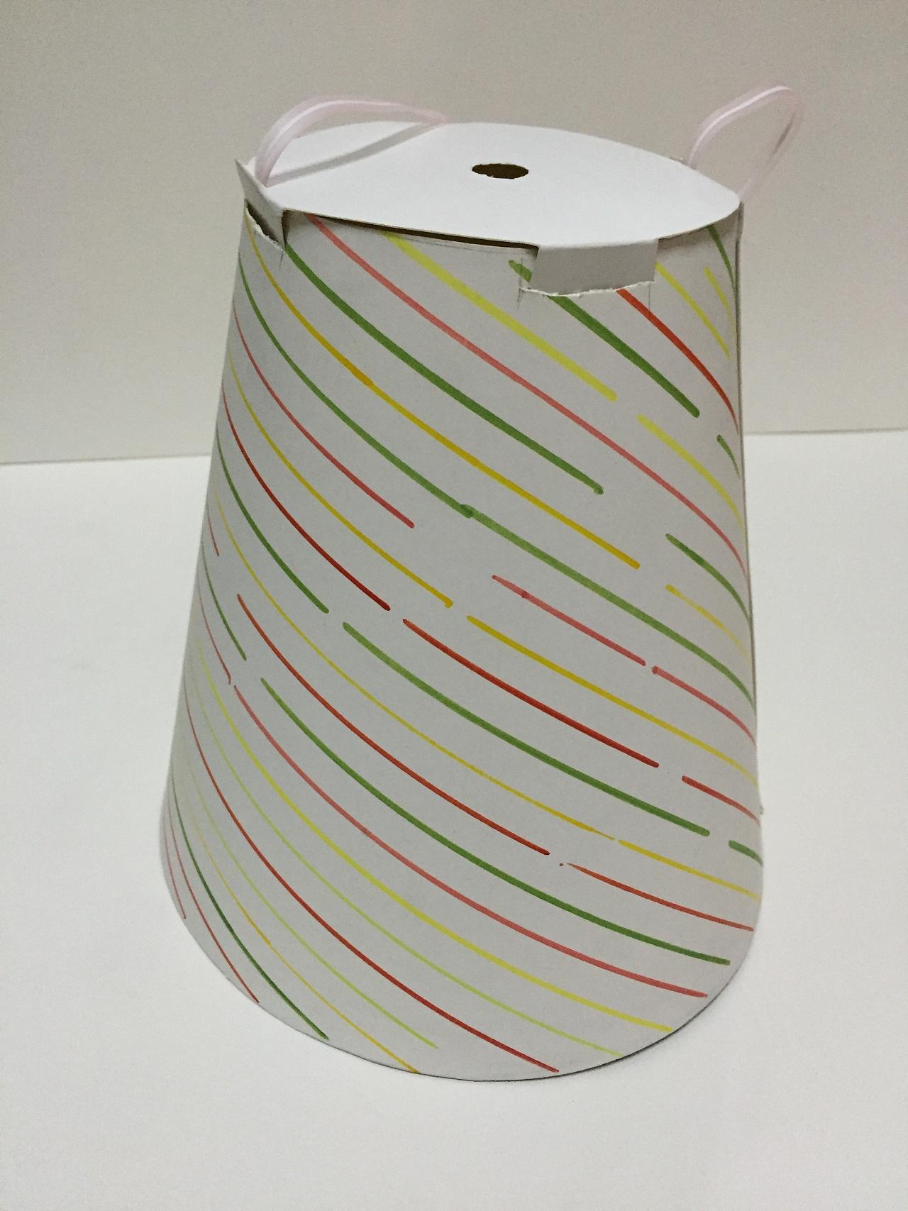 北欧棉绳手工编织灯罩
