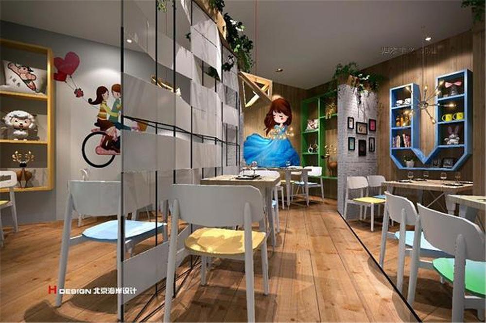 北京小餐饮串吧案例设计木材|块头|室内设计|海岸设计空间加工厂厂区设计图图片