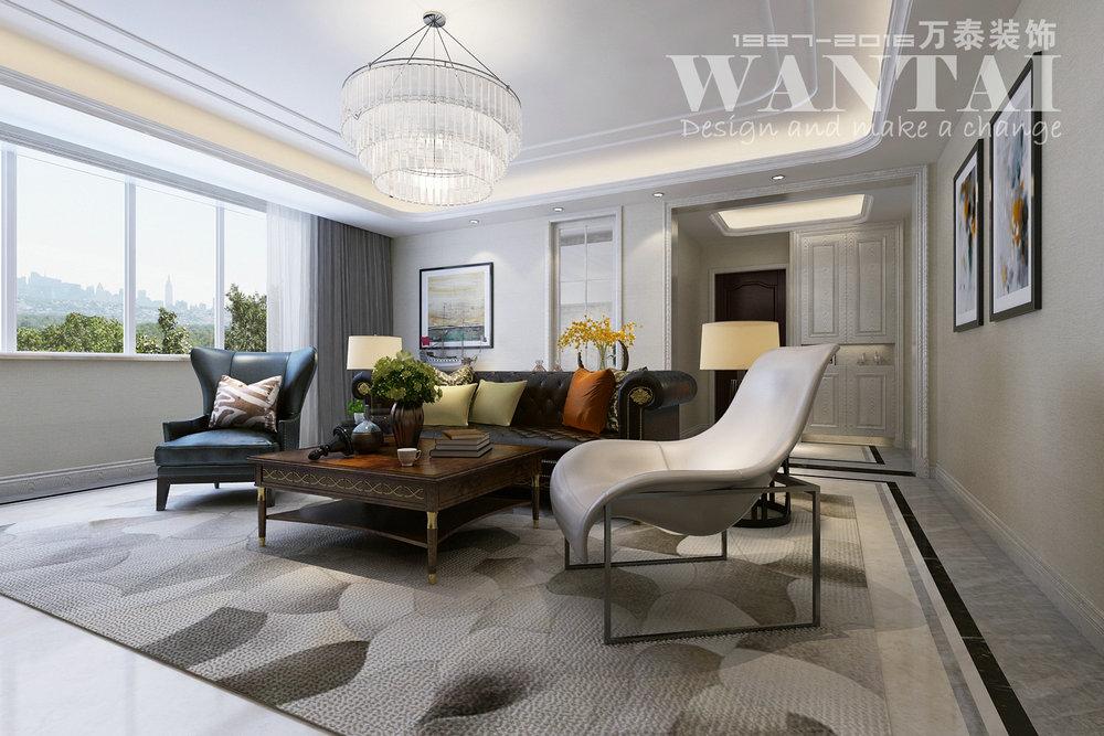 济宁翠都国际145平装修设计|空间|室内设计|济宁小郭