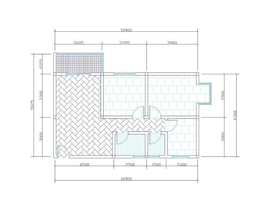 室内cad图纸|建筑设计|空间/建筑|雷鸣q