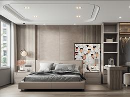 现代客厅餐厅卧室