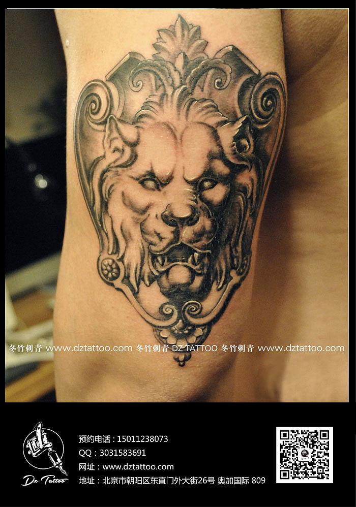 冬竹刺青——动物纹身图片