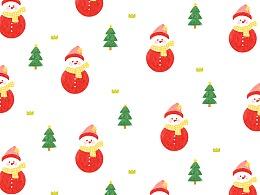 原创《糖果色圣诞节》手机壁纸系列