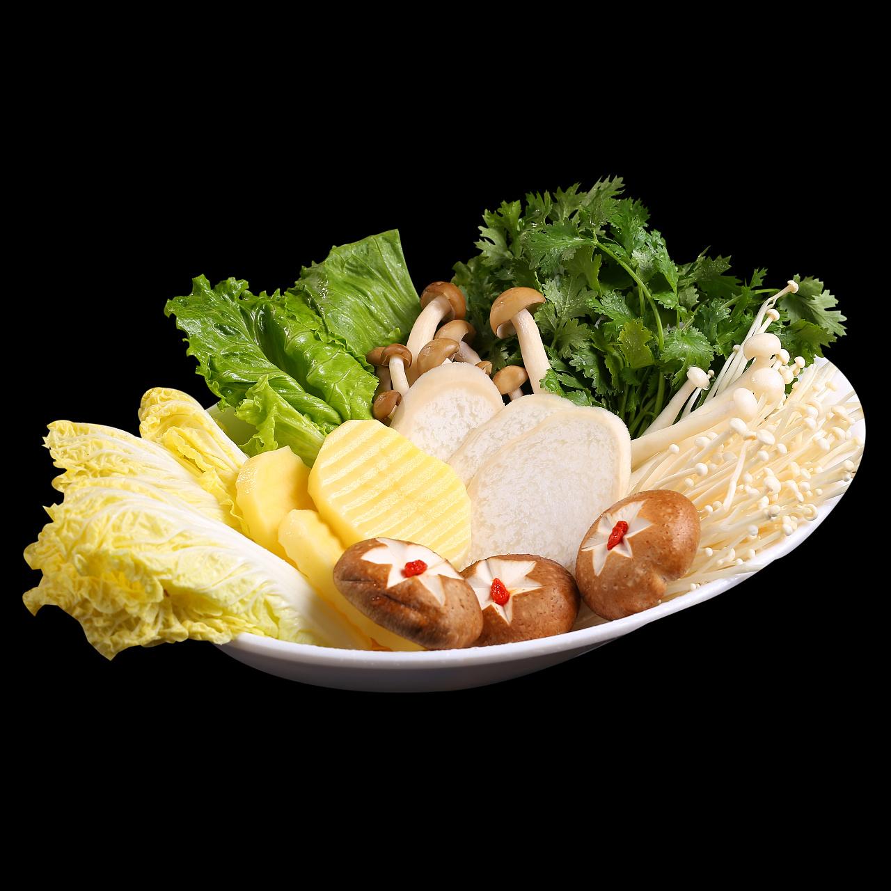 阿味大虾火锅品牌 / 部分菜品展示