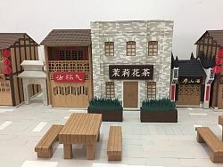 三坊七巷纸质手工街景