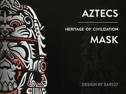 SA9527-阿兹特克文化 . 面具的故事(附带福利彩蛋)