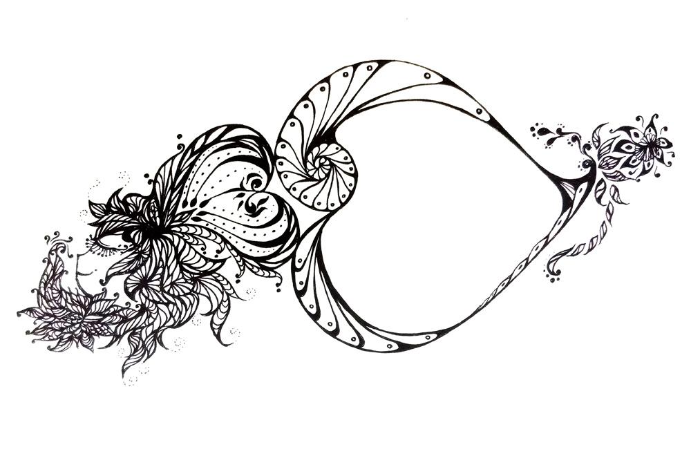 黑白手绘|插画|其他插画|l_amber - 原创作品 - 站酷