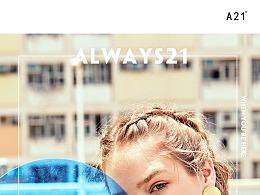 A21夏季短袖女2018新款针织圆领宽松荷叶边