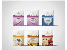 金骆驼-骆驼奶粉包装设计